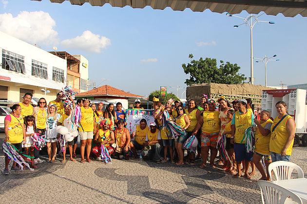 Bloco do Repensar e CAPS inicia comemorações do Carnaval na cidade de Delmiro Gouveia