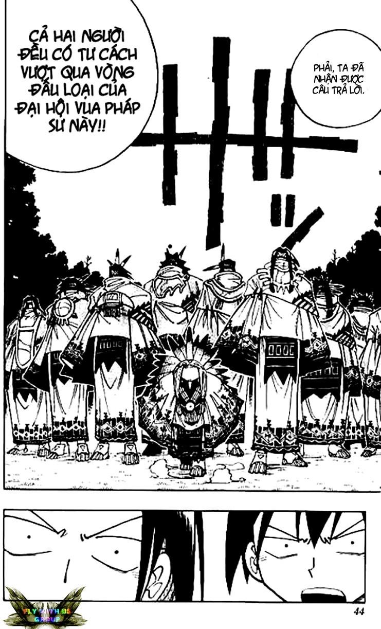 Shaman King [Vua pháp thuật] chap 64 trang 19