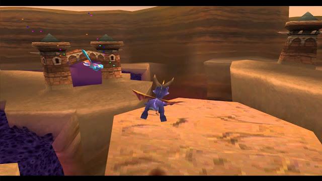 Spyro: El año del dragón - PSX - Captura 4