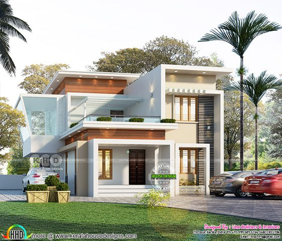 1491 sq-ft ultra modern house architecture