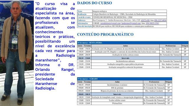 Sociedade Maranhense de Radiologia e CBR atualizam profissionais médicos em São Luís.