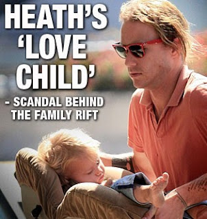 Heath ledger with daughter matilda 733244