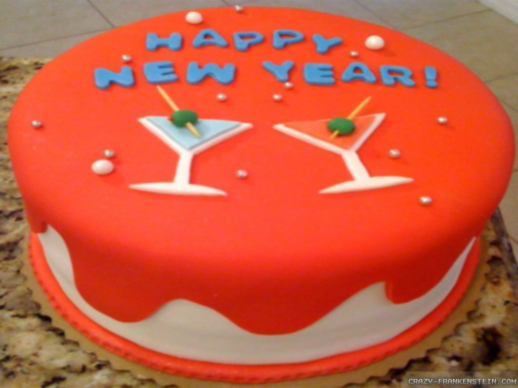 New Year Cake Cooking Games