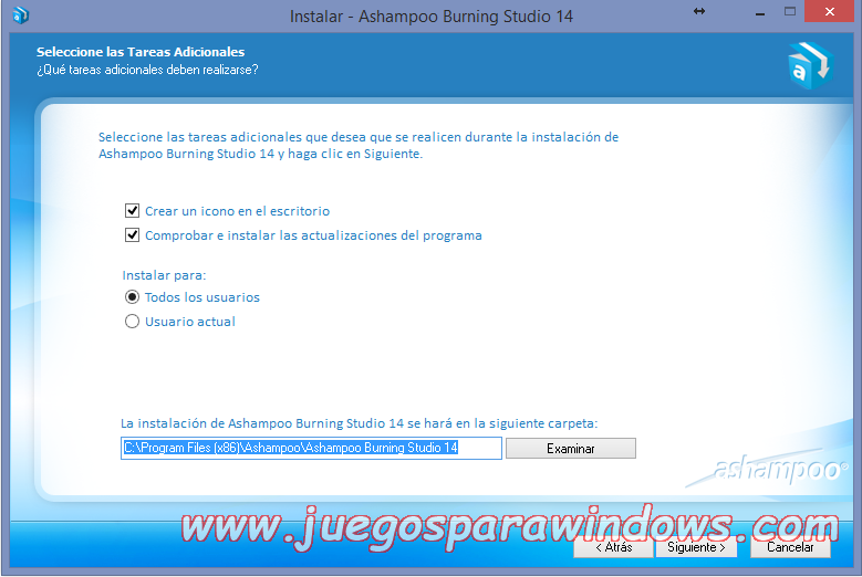 Ashampoo Burning Studio v14.0.5.10 Full PC ESPAÑOL 2