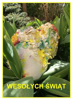 Życzenia, jajka i Zajączek :-)