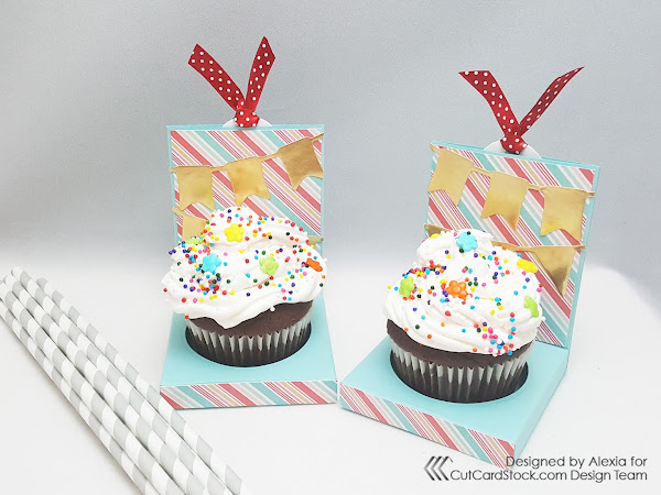 Birthday Party Cupcake Holder!