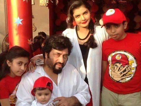 Nida Yasir S Recent Son Birthday Unseen Pictures Style