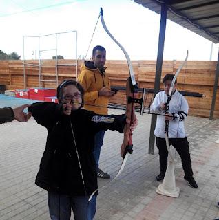 Tiro con Arco Discapacitados Aranjuez