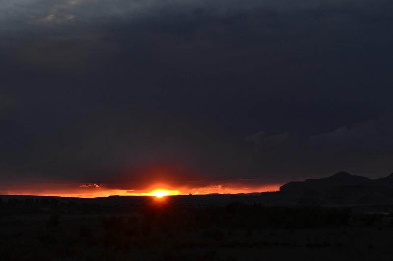 lake powell, utah, canyon, coucher de soleil