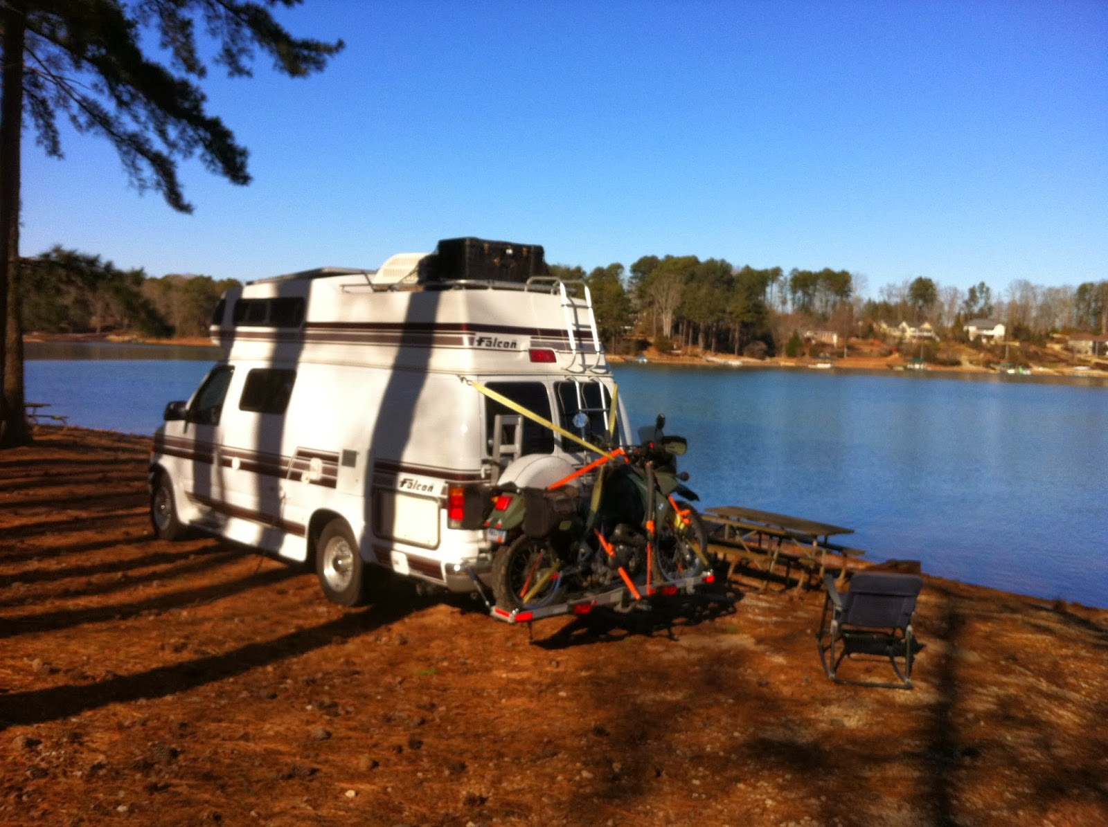 Our Fantastic Falcon Voyage Camping At Lake Keowee In