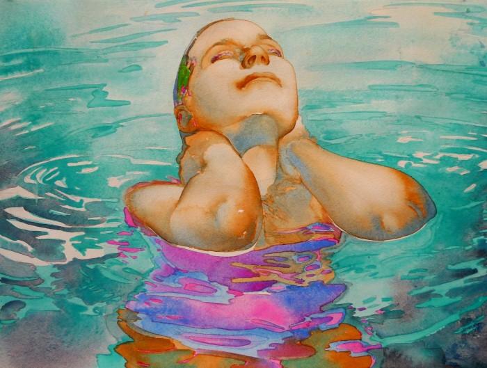 Carol Carter. Яркие акварели 15