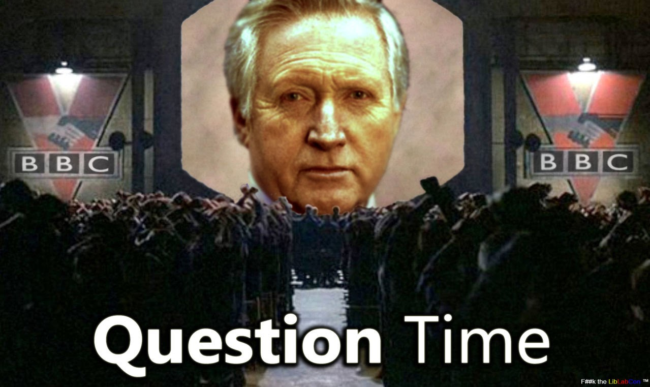 Morgoth's Review: BBC Question Time and the Paris Terror