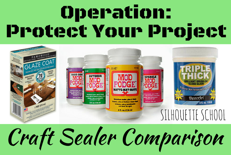 Should I Seal Vinyl? And With What Sealant? - Silhouette School