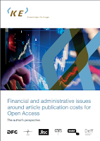 Financial and administrative issues around  article publication costs for Open Access