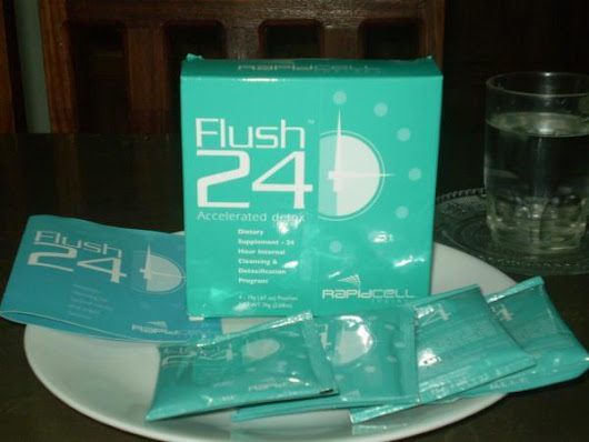 FLUSH 24 detoxifies and helps loss weight in 24 hours