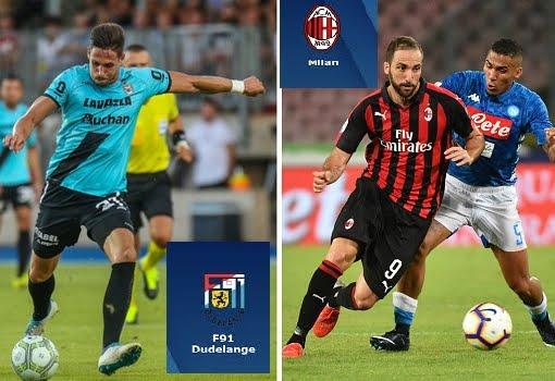 Dudelange-Milan Streaming Gratis, dove vederla | Calcio Europa League.
