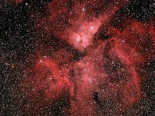 Image of NGC 3372 - Carina Nebula - Image by M. Petrasko