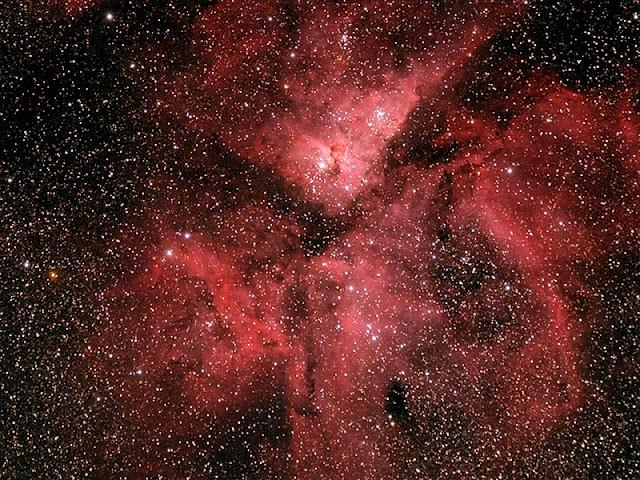 NGC 3372 - Carina Nebula - Image by Michael Petrasko