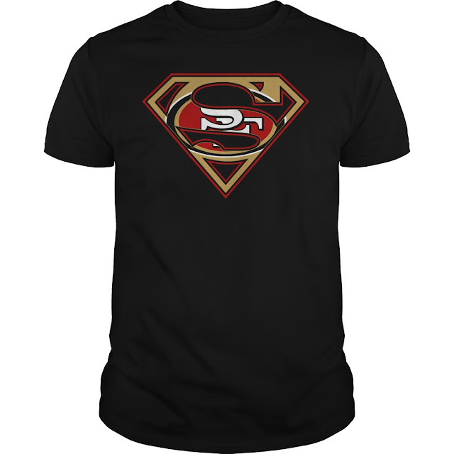 San Francisco 49ers Superman Logo Shirt