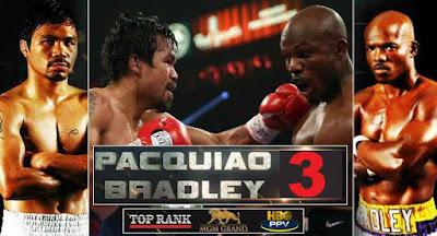 Pacquiao vs Bradley 3 Live Stream