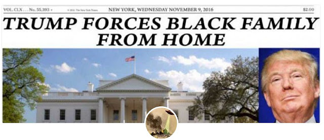 Trump Forces Black Family From Home!