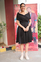 Actress Regina Candra Pos in Beautiful Black Short Dress at Saravanan Irukka Bayamaen Tamil Movie Press Meet  0038.jpg