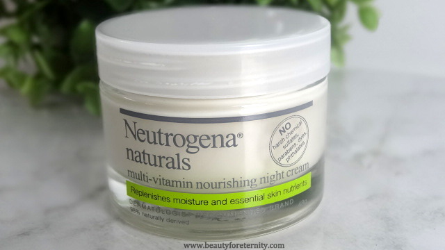 Neutrogena Naturals Multi-Vitamin Nourishing Night Cream Review