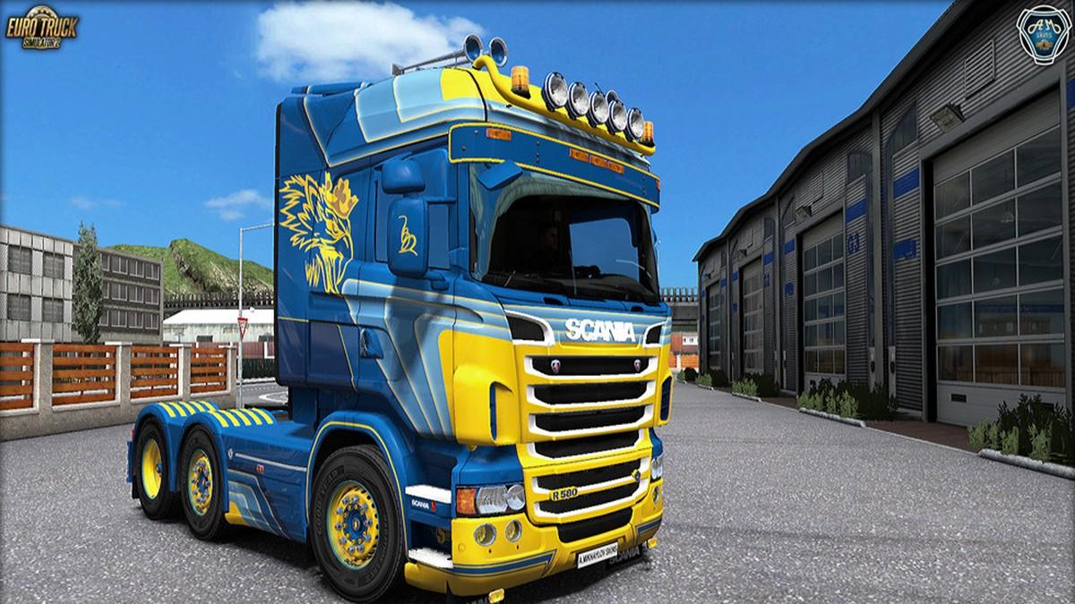 "Scania RJL ""Robell Express"" Kit"