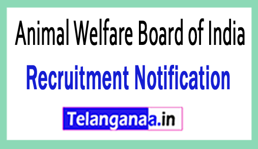 Animal Welfare Board of India AWBI Recruitment