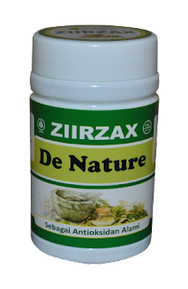 Obat Herbal Kapsul Zirzak De Nature Indonesia