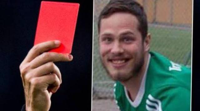 Hanya Karena Kentut Saat Bermain Sepak Bola, Pemain Ini Dikartu Merah