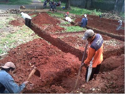 Hasil gambar untuk gambar galian tanah
