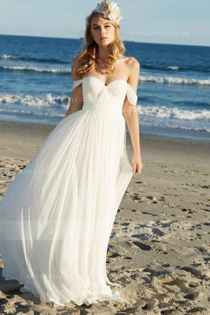 Image The Beauty Of Casual Beach Wedding Dresses
