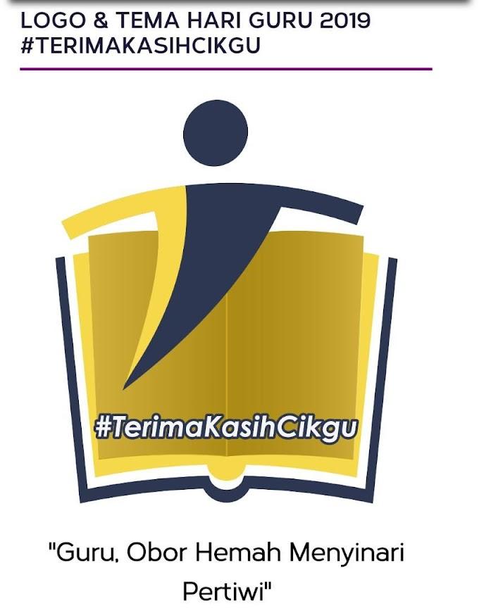 Logo dan Tema Hari Guru 2019