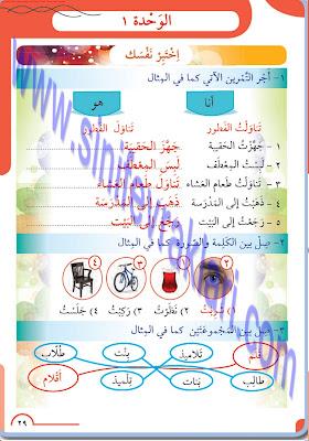8. Sınıf Arapça Meb Yayınları Ders Kitabı Cevapları Sayfa 29