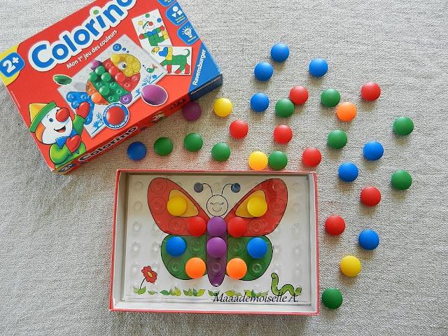|| Nos activités sur les papillons : Colorino