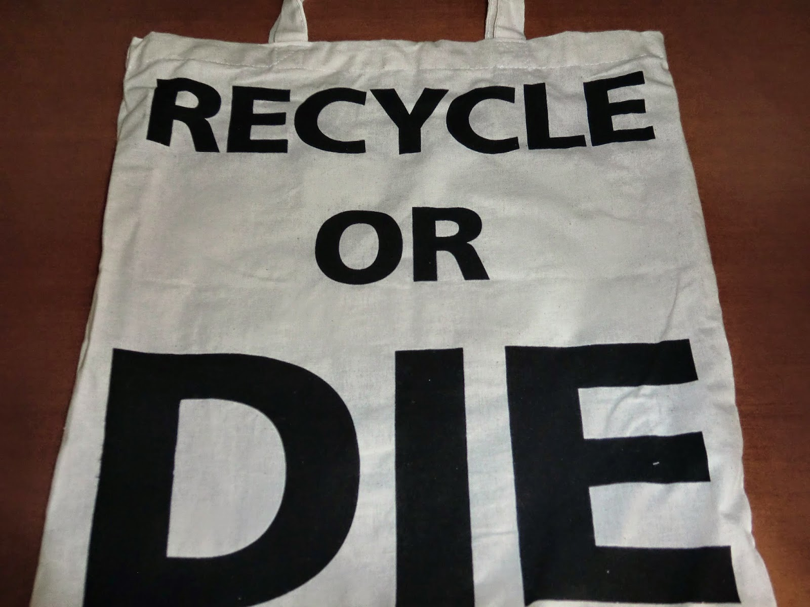 Bolsa Recycle or die
