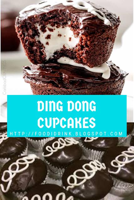 DING DONG CUPCAKES RECIPE