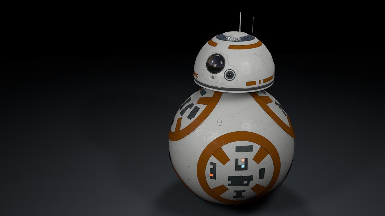 Mac Mave Studios: Star Wars Episode 7 - Free BB-8 Droid 3D