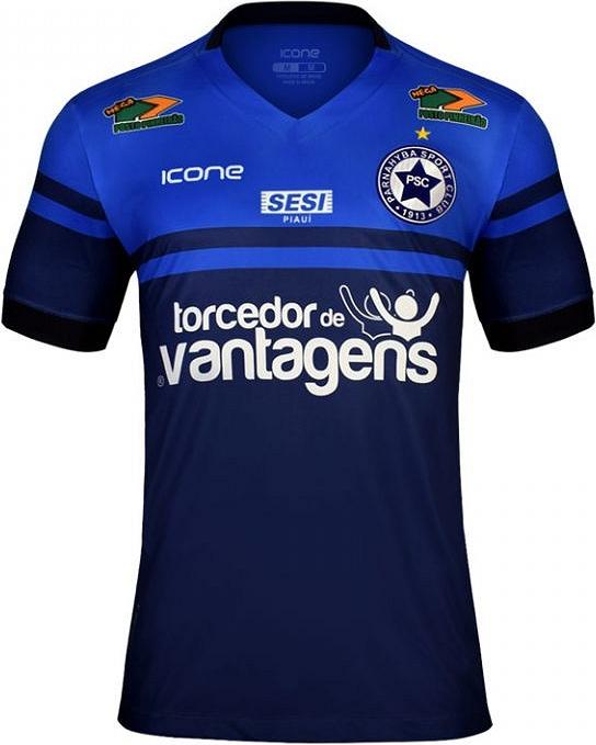 4069c96e56 Ícone Sports lança a nova camisa titular do Parnahyba. A fabricante de material  esportivo Ícone Sports divulgou ...