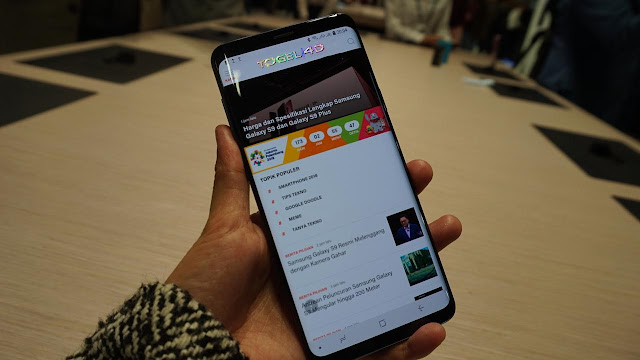 Gedung Tertinggi di Dunia Jadi Papan Iklan Samsung Galaxy S9