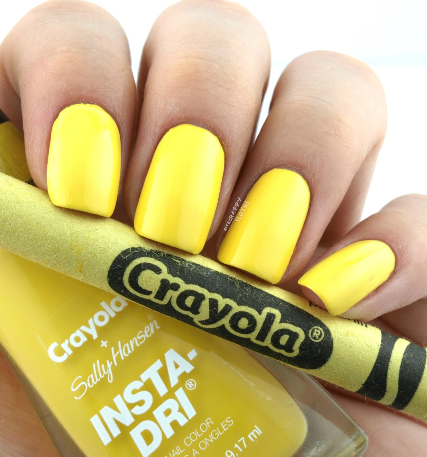 Sally Hansen + Crayola Collection | 505 Dandelion: Review and Swatches