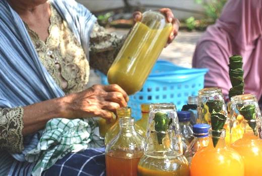 Jamu yang menjadi obat asli Indonesia