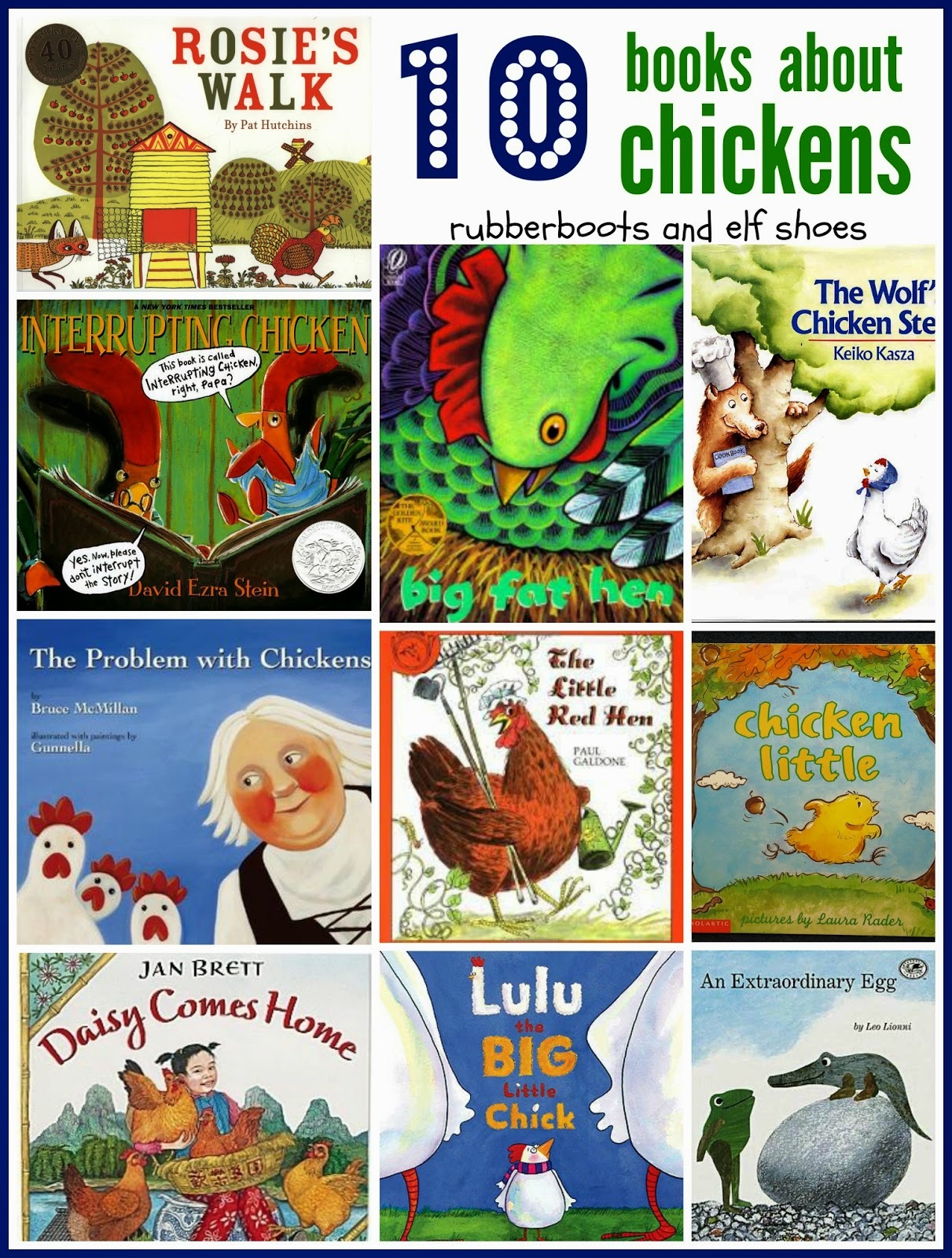 10 Fiction Books About Chickens