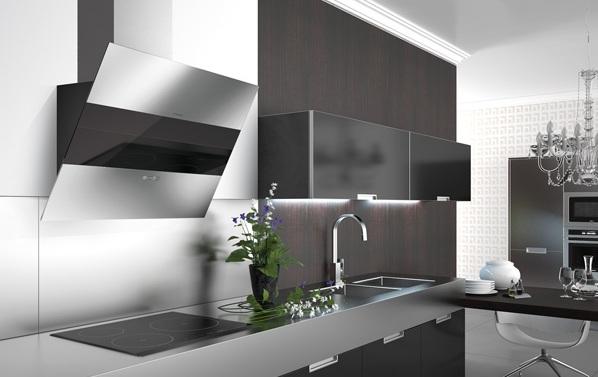 C mo usar y mantener limpia la campana extractora cocinas con estilo - Campanas de cocina decorativas ...