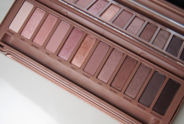 urban decay naked 3 eyeshadow palette swatches review
