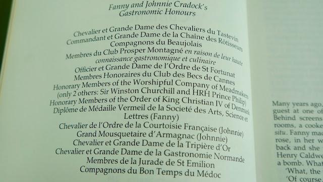 Fanny Cradock Tripe