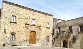 Palacio Episcopal; Cáceres; Extremadura; Vía de la Plata