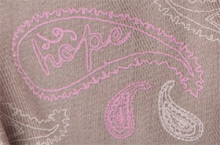 Miche Paisley Hope Shell Close Up