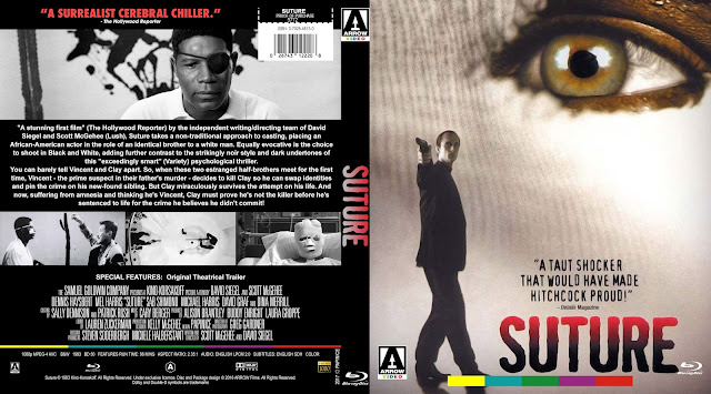 Suture (1993) Bluray Cover